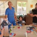 Баща и син направиха дарение за здраве на деца с увреждания