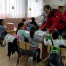 Дариха коледни подаръци на деца от Каспичан