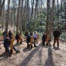 Горските в странджанското село Кости подариха на учениците чисто нова класна стая на открито