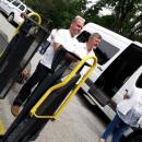 Дариха платформа за инвалидни колички на Старческия дом