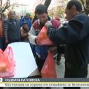 Благодетел, познаващ човешкото страдание, храни бездомни през зимата