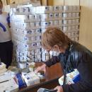 17,5 кг. храни за малки семейства и 27,7 кг. за големите раздава БЧК
